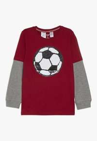 Carter's - KIDS FLIP SEQUIN TEE - Langærmede T-shirts - red - 0