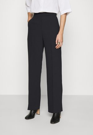 DAY CLASSIC GABARDINE - Trousers - black