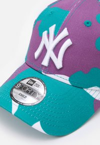 New Era - KIDS TOD CAMO PACK 9FORTY+KIDS CHYT CAMO PACK 9FORTY UNISEX - Cap - teal - 3