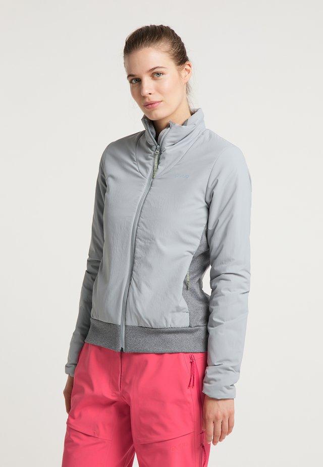 INSULATED ZORA - Soft shell jacket - french grey