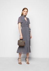 MICHAEL Michael Kors - PRINTED MIDI DRESS - Day dress - blue - 1