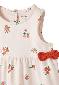 Vertbaudet - Day dress - zartrosa geblümt - 2