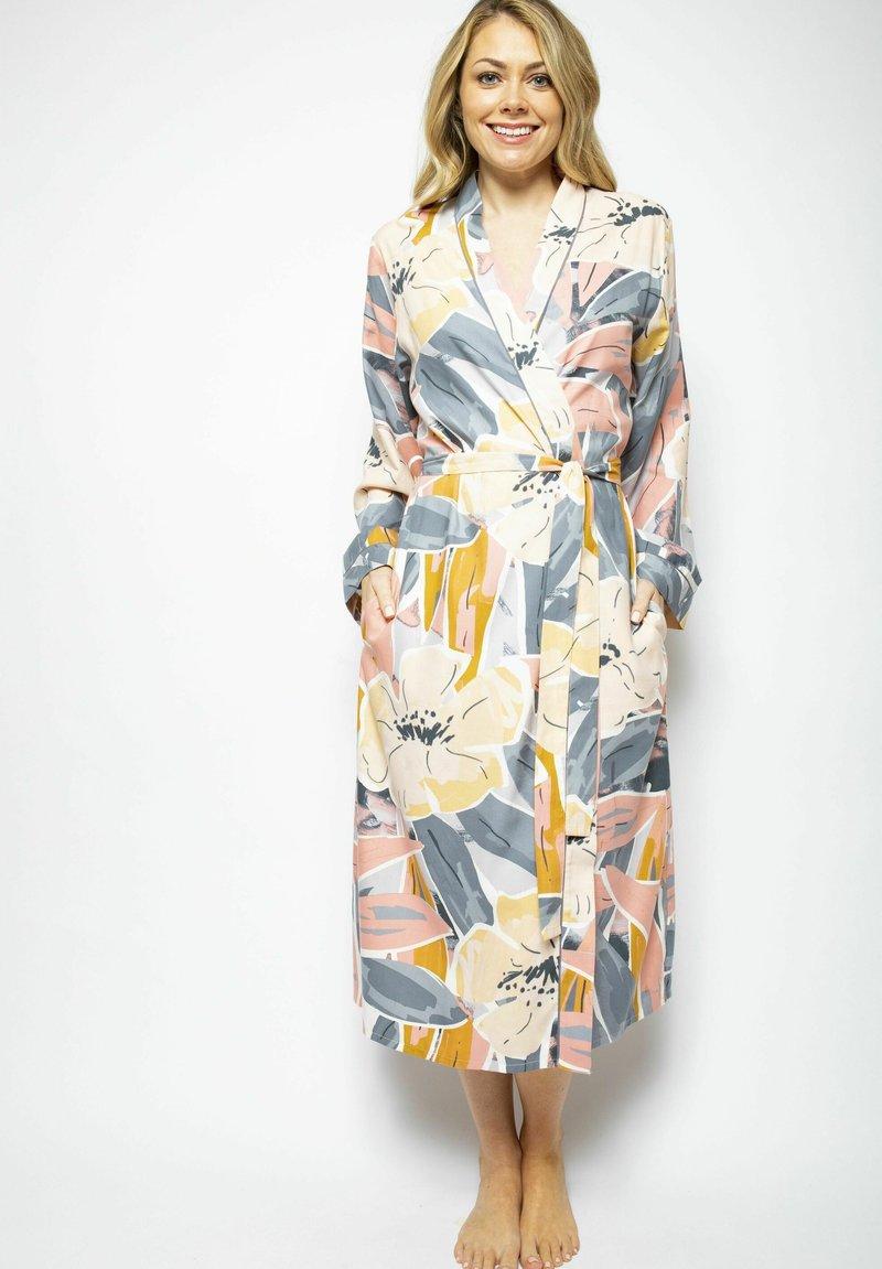 Cyberjammies - Dressing gown - grey peach