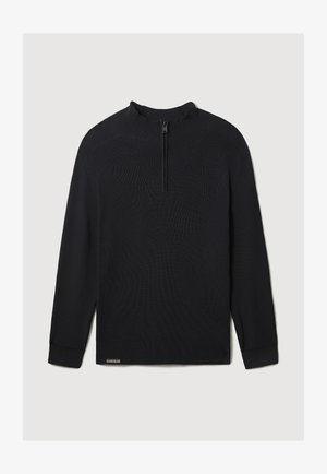 D-CIRCULAR - Fleece trui - black