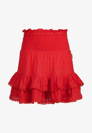 A-line skirt - epic red