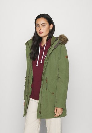 AMY 2-IN-1 - Parka - bronze green