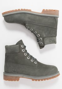Timberland - 6 IN PREMIUM WP BOOT - Bottines à lacets - dark grey - 0