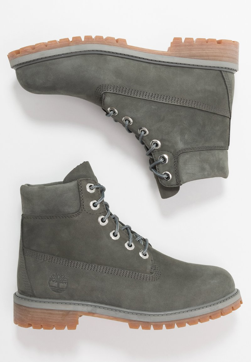 Timberland - 6 IN PREMIUM WP BOOT - Bottines à lacets - dark grey