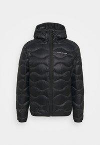 Peak Performance - HELIUM HOOD JACKET - Gewatteerde jas - black - 4