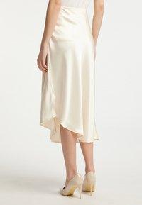 DreiMaster - Áčková sukně - champagner - 2