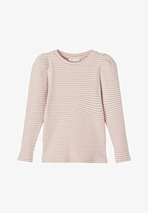GESTREIFTES - Long sleeved top - woodrose