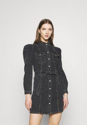 ONLMONICA LIFE DRESS - Denim dress - black denim