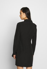 Nly by Nelly - FRILL SUIT DRESS - Shift dress - black - 2