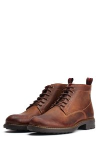 Base London - CLIFTON PULL UP - Lace-up ankle boots - tan - 1