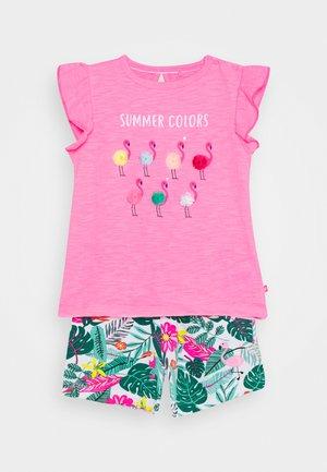 BABY SET - Triko spotiskem - pink/multi coloured
