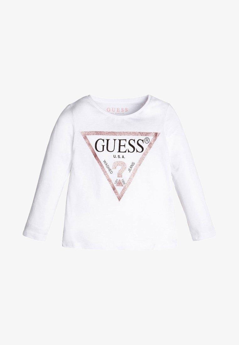 Guess - Top sdlouhým rukávem - white