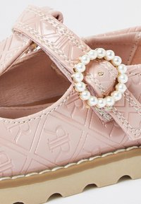 River Island - MONOGRAM - Touch-strap shoes - pink - 3
