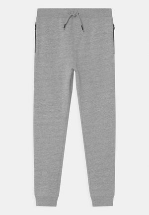NKMVALON - Tracksuit bottoms - grey melange