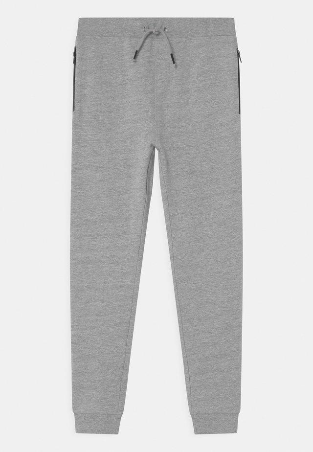 NKMVALON - Pantalones deportivos - grey melange