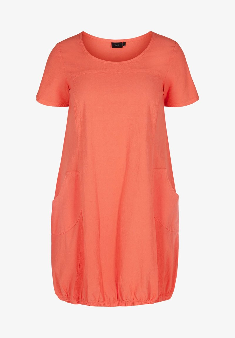 Zizzi - Day dress - hot coral