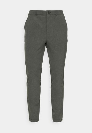 LIAM PANT - Trousers - medium grey melange