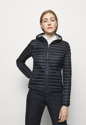 LADIES JACKET - Down jacket - navy blue/light stee