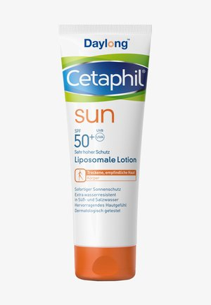 SPF50+ LIPOSOMALE LOTION - Sun protection - zartgelb