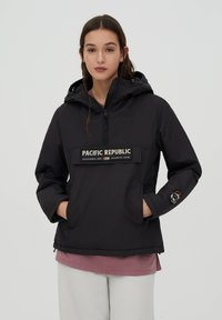 PULL&BEAR - PACIFIC REPUBLIC - Winter jacket - black - 0