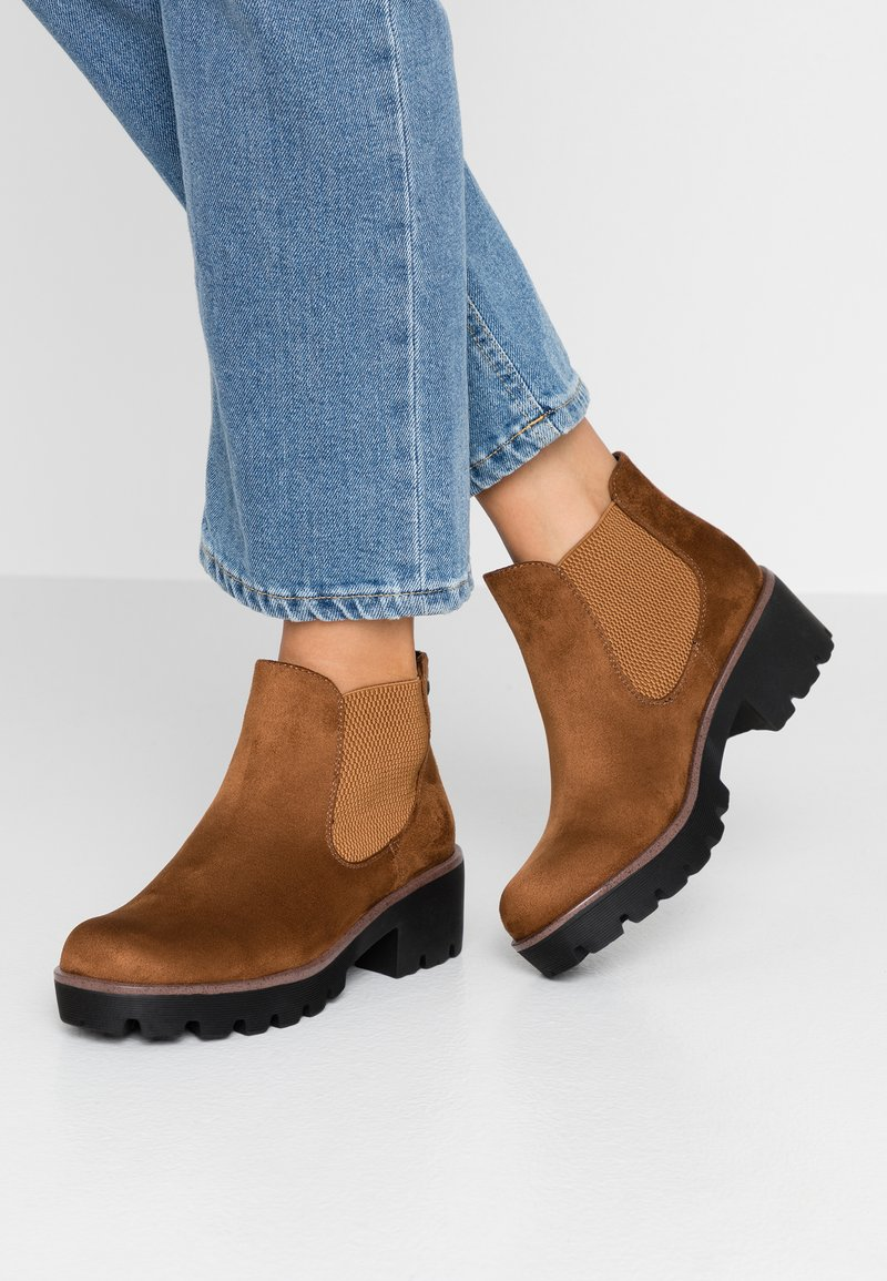 Rieker - Ankle boots - brandy
