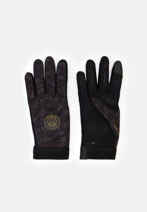 JORDAN - Gloves - black/anthracite/gold