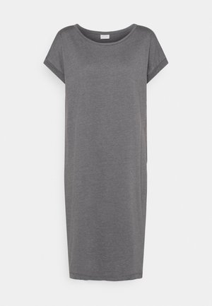 Jersey dress - medium grey melange