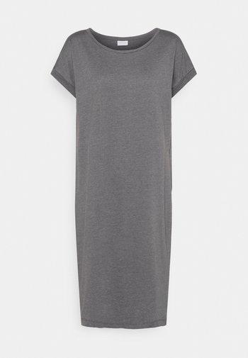 VIDREAMERS - Jersey dress - medium grey melange
