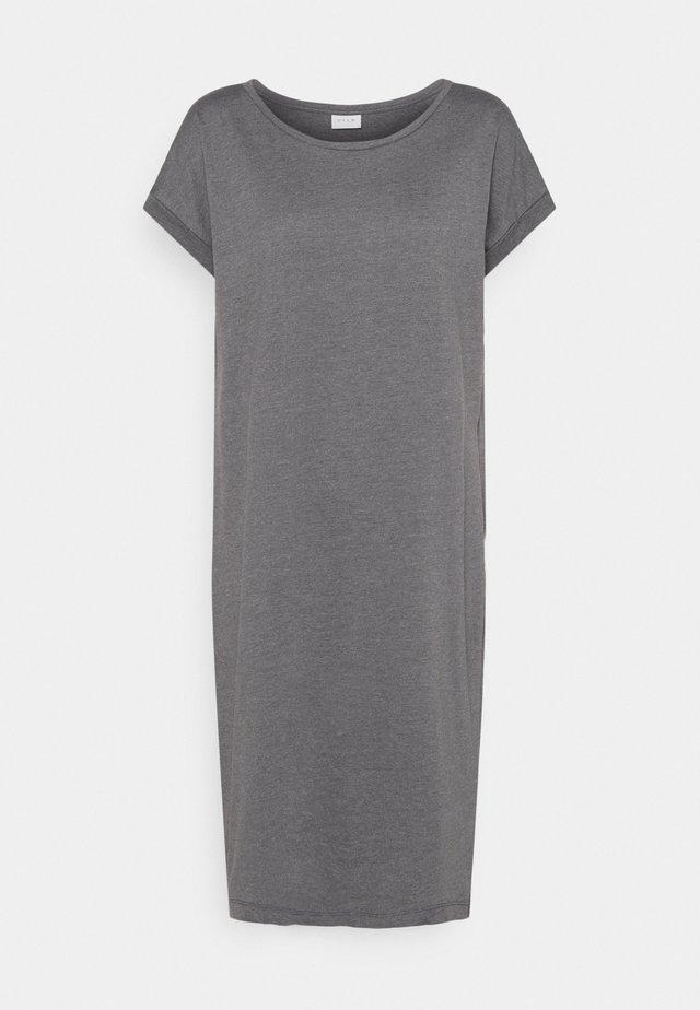 Jersey dress - medium grey melange