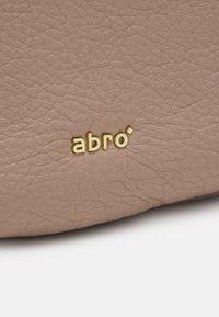 Abro - BEUTEL LOTA SMALL - Handbag - powder - 5