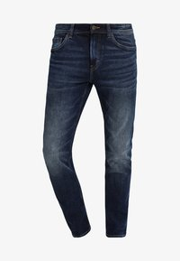 TOM TAILOR - JOSH - Slim fit jeans - mid stone wash denim - 4