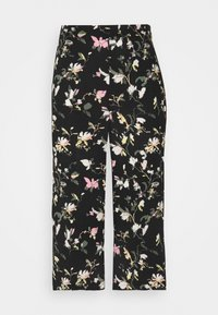 Vero Moda Petite - VMSIMPLY EASY CULOTTE PANT - Shorts - black/oline - 0