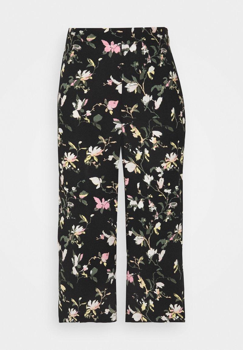 Vero Moda Petite - VMSIMPLY EASY CULOTTE PANT - Shorts - black/oline