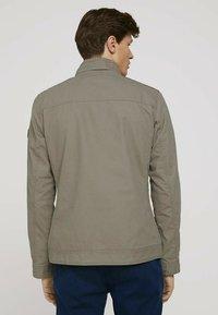 TOM TAILOR - BIKER - Light jacket - coastal fog beige - 2
