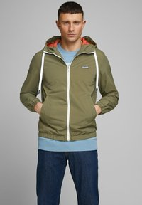 Jack & Jones - JORHARLEY - Summer jacket - dusty olive - 0