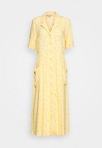 Monki - MATTIS DRESS - Skjortekjole - yellow - 4