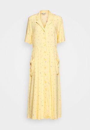 MATTIS DRESS - Shirt dress - yellow