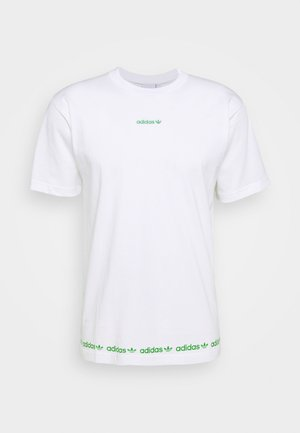 LINEAR REPEAT - T-shirt imprimé - white