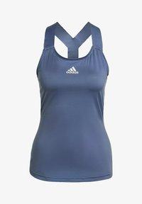 adidas Performance - TENNIS Y-TANKTOP - Topper - blue - 6