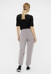 MAMALICIOUS - Tracksuit bottoms - dark grey - 2