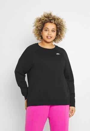 CREW PLUS - Sweater - black/white
