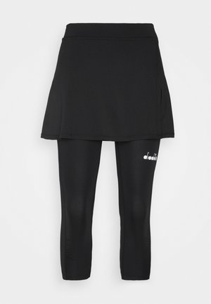 POWER SKIRT - Sports skirt - black