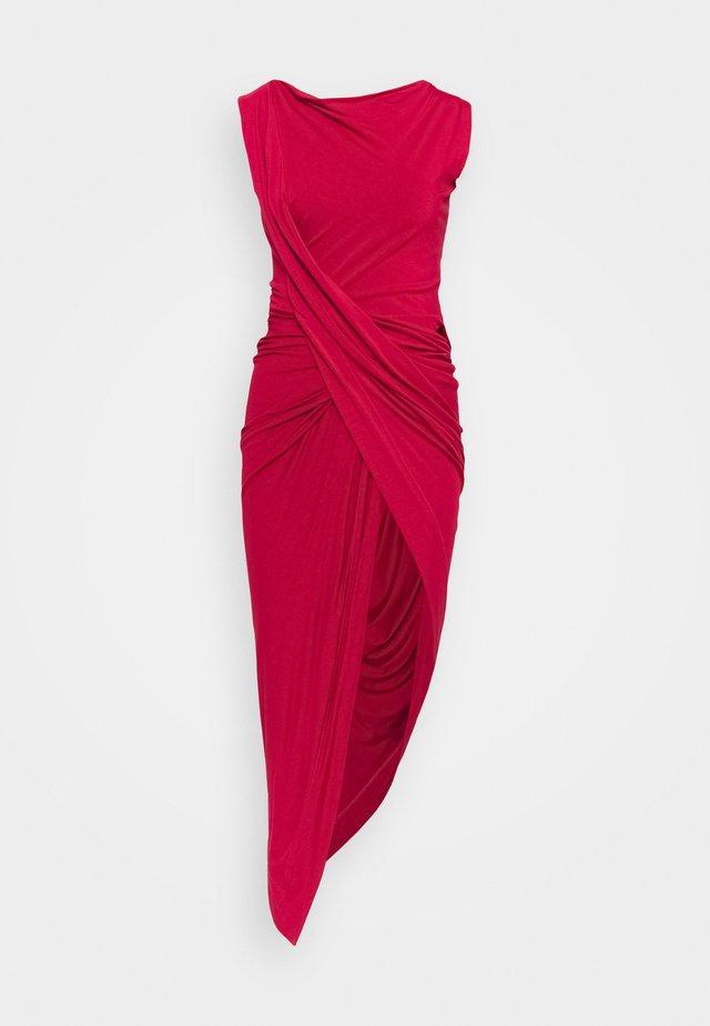 VIAN DRESS - Sukienka z dżerseju - red