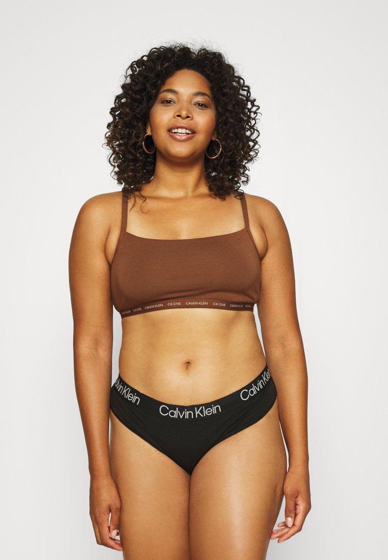 Calvin Klein Underwear - ONE UNLINED BRALETTE 2 PACK - Steznik - spruce