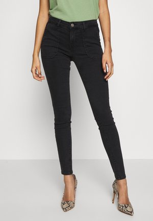 ONLCARMEN WORKER  - Jeans Skinny Fit - black denim