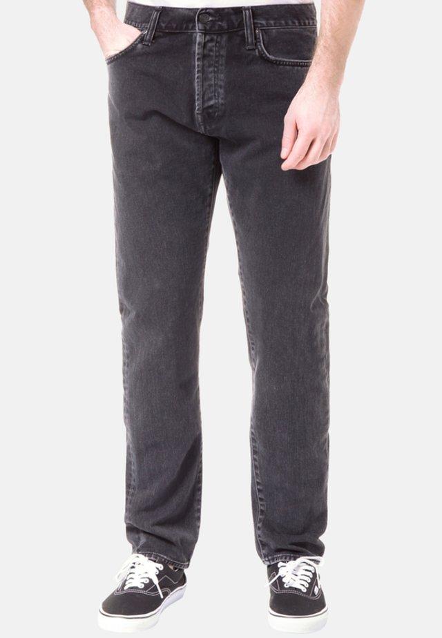 KLONDIKE  - Straight leg jeans - black